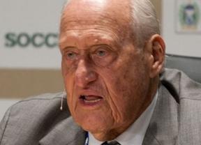 Por fin Havelange dimite en la FIFA... pero sólo para librarse de una investigación de tráfico de influencias