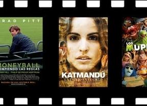 Brad Pitt  regresa a loos cines con 'Moneyball'
