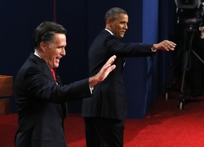 La prensa da la victoria a Romney en su primer debate con Obama