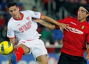 Cuatro inútiles ante el gol: Mallorca-Sevilla y Betis-Málaga empatan a nada (0-0)