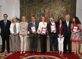 Acuerdo contra la siniestralidad: primera foto-consenso de Cospedal con sindicatos y empresarios de la legislatura