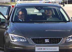 Otra lección para Rajoy: el Rey lleva a Mas de copiloto...