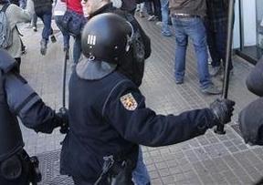 Los antidisturbios se han duplicado en Valencia con la llegada de cien agentes