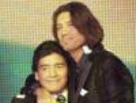 Un desdibujado Maradona reapareció en lo de Tinelli