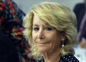 Esperanza Aguirre critica a Margallo por sus declaraciones sobre el éxito de la Diada