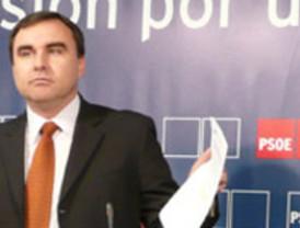 El PSOE pide a Valcárcel que