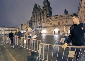 Llega a Santiago el 'Peregrino 100.000' de 2013