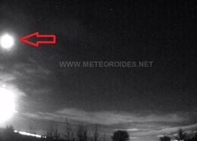 Una bola de fuego, formada por una roca procedente de un asteroide, sobrevuela Toledo