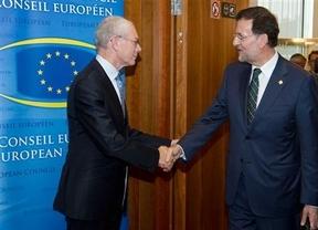 Van Rompuy y Mariano Rajoy