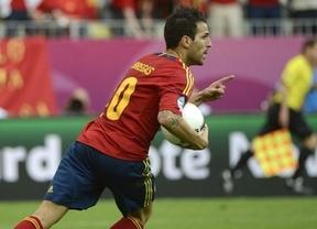 Eurocopa 2012. Cesc nos 'rescata' de una injusticia y de una Italia inferior pero que se adelantó (1-1)