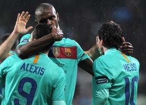 El Barça gana sin brillo a un Mallorca sin puntería (0-2)