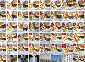 Dos años fotografiando un 'Happy Meal'