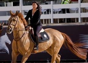 Los caballos de la Princesa Lama destacan en competición