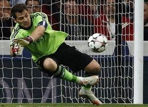 Juicio salomónico de Ancelotti: Casillas compartirá ahora titularidad con Diego López en la Liga