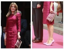 La Princesa Letizia exhibe una belleza y elegancia natural