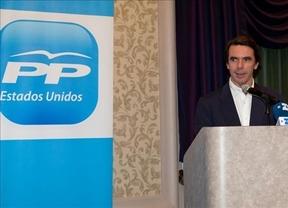 Aznar, desde EEUU con amor: