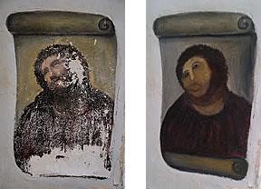 El Cristo arruinado y la peor restauración del mundo
