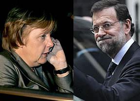 Todos tranquilos: Merkel asegura que no echará ni a España ni a Portugal del euro