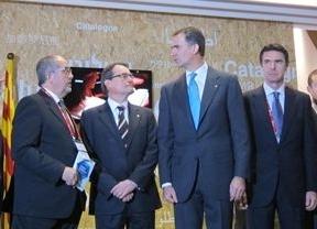 Polémica en el Mobile World Congress: Un empresario niega el saludo al Príncipe por no permitir la consulta