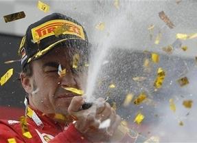 Alonso vuelve a hacer una gran remontada y acaba segundo, sólo superado por el líder Vettel