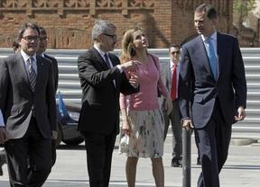 El Príncipe destaca, en catalán, los beneficios empresariales que pueden lograr Cataluña y España juntas