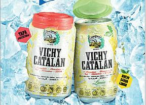 El agua mineral, ahora también envasada en lata: Vichy Catalán lanza la primera