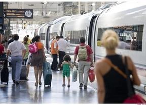El temporal deja fuera de juego al AVE Alicante-Albacete obligando a desviar los trenes