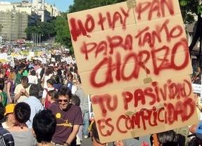Juntos pero no revueltos en las manifestaciones contra los recortes