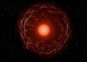 Así es la imagen de una estrella devorando un planeta