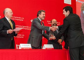 Un gran proyecto innovador de jóvenes emprendedores gana Premio Santander 2012-2013