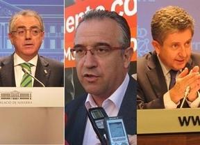 Otro mazazo para la imagen de los políticos: imputados el ex presidente de Navarra y el alcalde de Pamplona