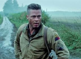 Brad Pitt vuelve a enfrentarse a los nazis en la película 'Corazones de acero'