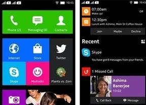 Android se disfraza de Windows en el Nokia Normandy