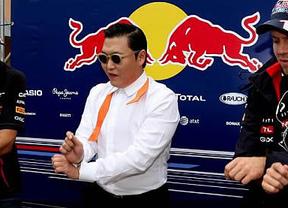 El 'Gangnam Style' también se bailó en el GP de Corea