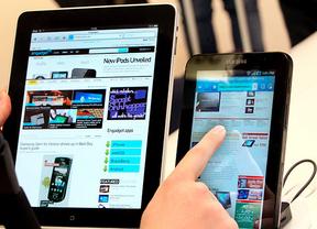 Los 'tablets' con Android comen el terreno al iPad