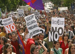 Las protestas y huelgas por los recortes en Educación protagonizarán esta