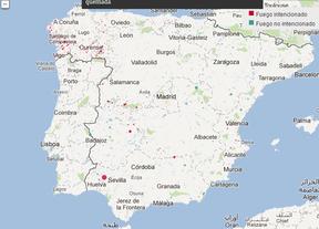 'España en llamas', una aplicación para explorar una década de incendios a un nivel de detalle nunca visto
