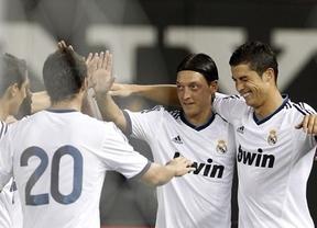Un Real Madrid de enorme pegada también sabe dar 'manitas', como comprobó el Mallorca (0-5)