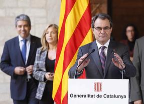 Poco antes de publicarse las 'balanzas fiscales', Cataluña presume de condiciones para formar parte de la UE