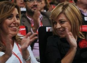 Elena Valenciano arranca la precampaña junto a Susana Díaz con un acto en Málaga