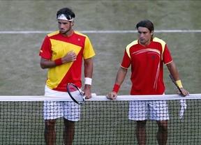 Feliciano  López y David Ferrer pierden la 'batalla' por el bronce olímpico