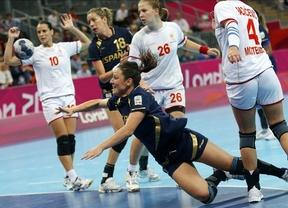 Las 'guerreras' del balonmano caen ante Montenegro y lucharán por el bronce con Corea del Sur