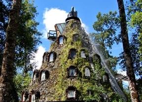 Un hotel de lo más exótico, está en el interior de una montaña