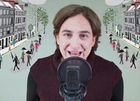 'El run run': Ada Colau comienza la campaña municipal cantando una rumba