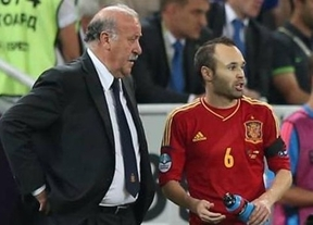 Y el Premio Iniesta a la Excelencia Deportiva es para... Vicente del Bosque: dos grandes/grandes