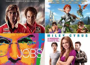 Steve Jobs, Miley Cyrus, Niki Lauda y la voz de Antonio Banderas llegan a los cines con los estrenos de la semana