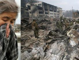 Aumentan a 10.000 las víctimas y a 25.000 los rescatados en Japón