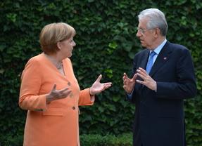 Monti pide a Alemania apoyo moral, no financiero para superar la crisis