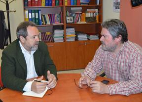 Labrador (izq.) con García Villaraco