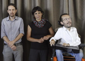 Iglesias cambia su apoyo a Echenique en Aragón y este responde: 'con 2 Pablos', mejor